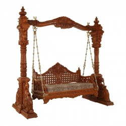 Wooden Carved Swing