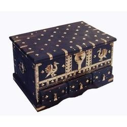 Brass Work Jewellery Box
