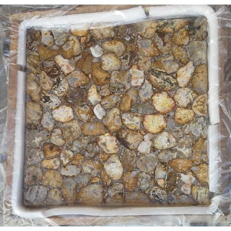 Semi Precious Gemstone Table Top Tile