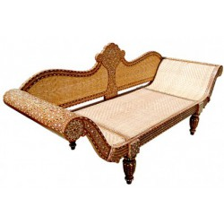 Bone Inlay Settee