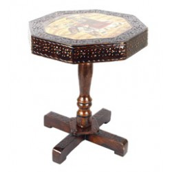 Jaipuri End Table